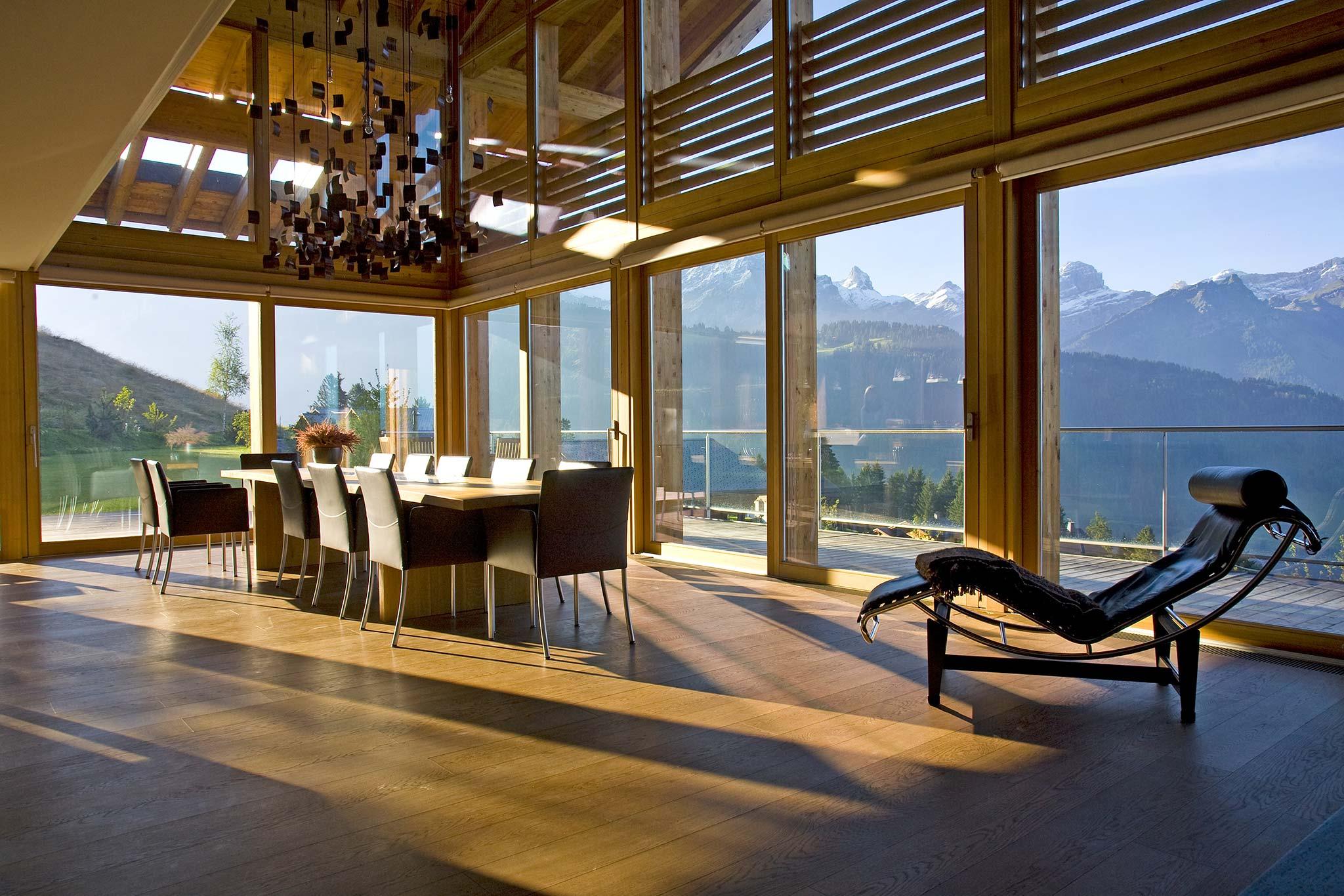 Modern Swiss Chalet Interior Design  Callender Howorth