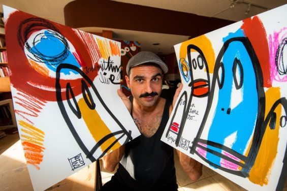 picture 2 - All about the amazing artist David 'Lebo' Le Batard