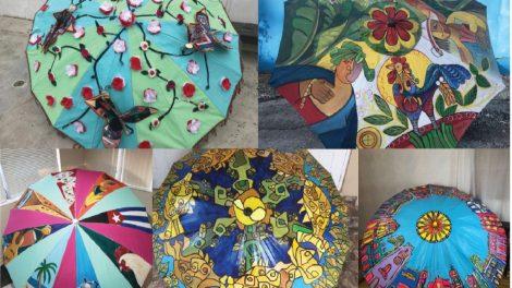 umbrellas - Come out for the 6th Annual Umbrellas of Little Havana Art Festival