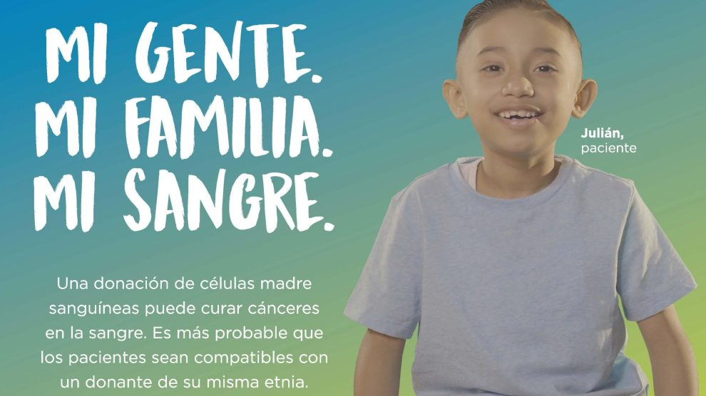 julian postcard Page 1 scaled - Un Niño de Siete Años Necesita La Ayuda de la Comunidad Hispana para Salvar Su Vida