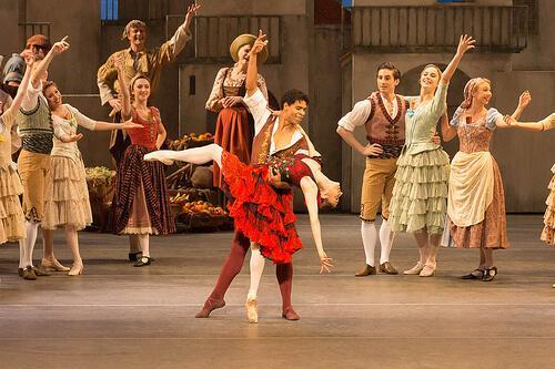 Don Quixote ballet scene