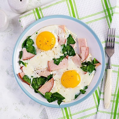 eggs small - Keto diet! Ditch the beans, keep the pork