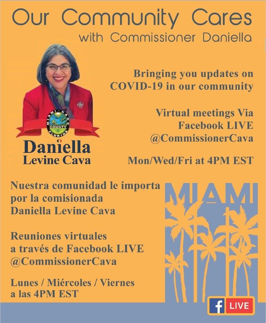 daniella levine 3 - A Nuestra comunidad le Importa y a Levine Cava también