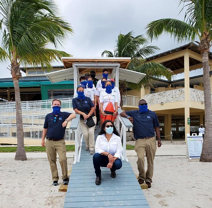 lifeguard miami ribbon cutting3 - New Lifeguard Stand built at Homestead Bayfront park