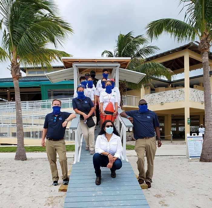 lifeguard miami ribbon cutting3 - Nueva Caseta de Salvavidas en Homestead Bayfront