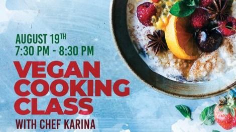 Aguacate Vegan Cooking Class