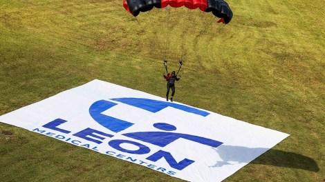 Leon Medical Centers Parachute Demonstration