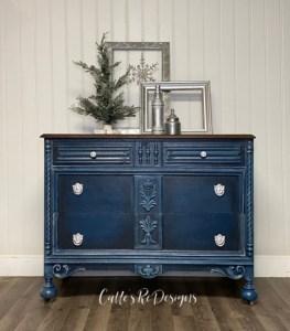 Beautiful in Blue Dresser