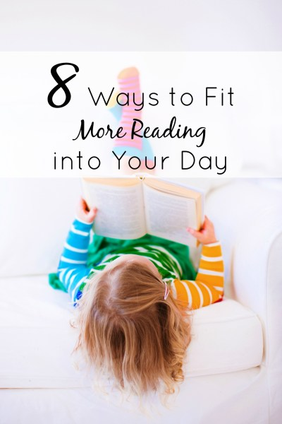 It's more than just finding books worth reading. Here are 8 simple ways I fit more reading into our days. All of these strategies work well for us, but Read More Books Now class really changed my perspective.