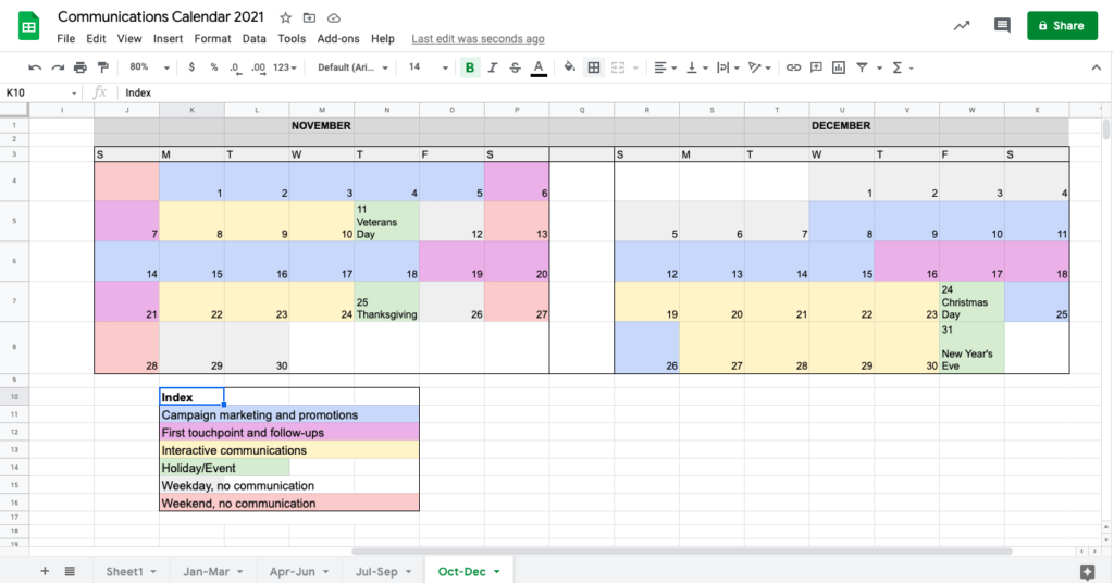 Free and premium plans sales crm software. Top Ways To Craft A Nonprofit Communications Calendar Template