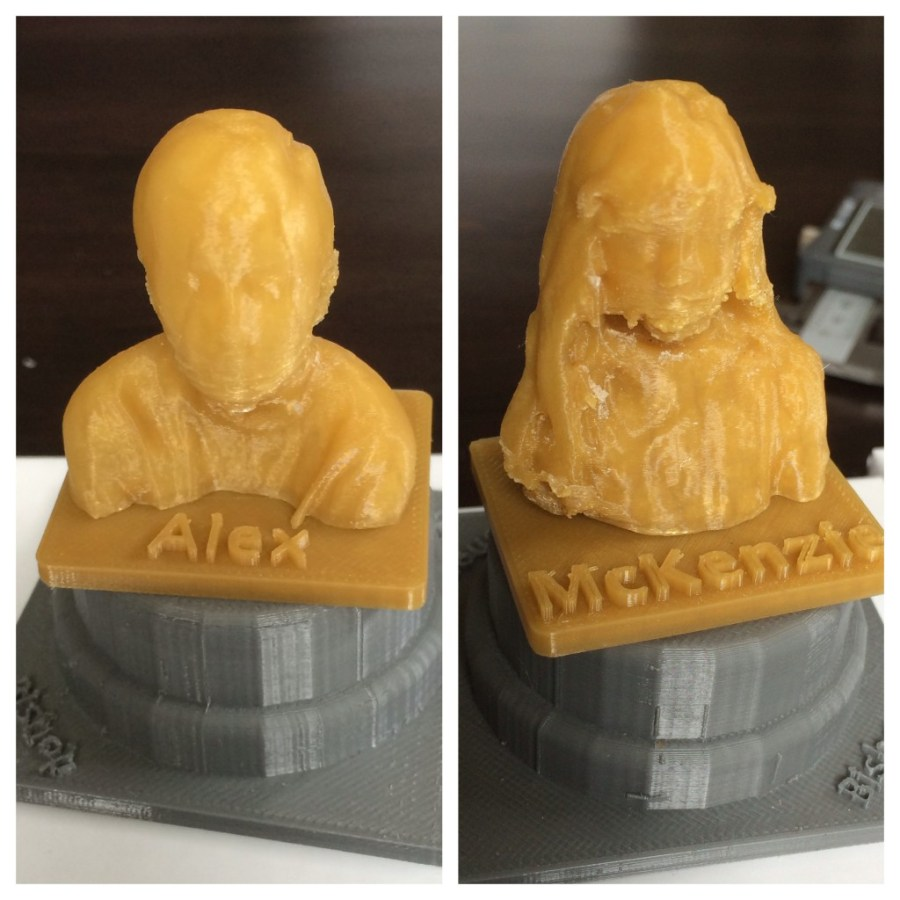 3D Scanned and Printed Chess Pieces