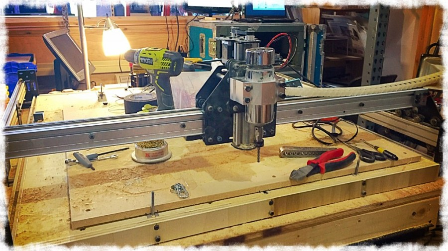 Stiffening the X-Axis on my Shapeoko