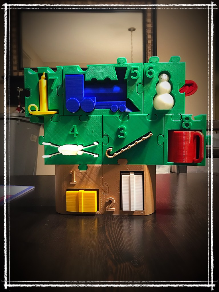 Day 8 of the 3D-Printed Advent Calendar