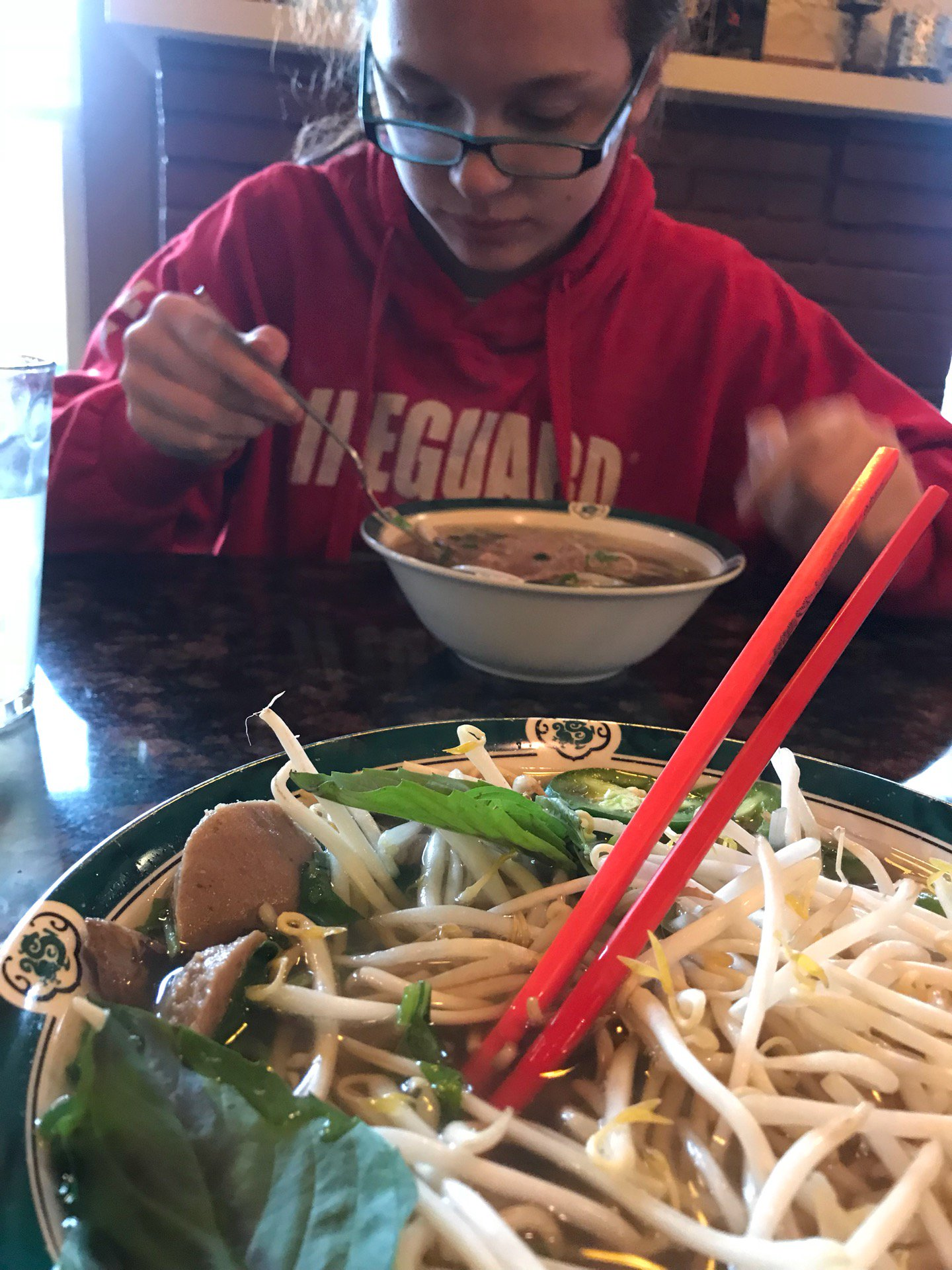 Lunch with McKenzie (@ Pho…