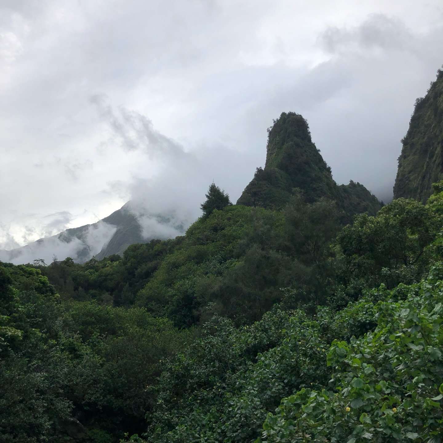 I'm at ʻĪao Valley State…