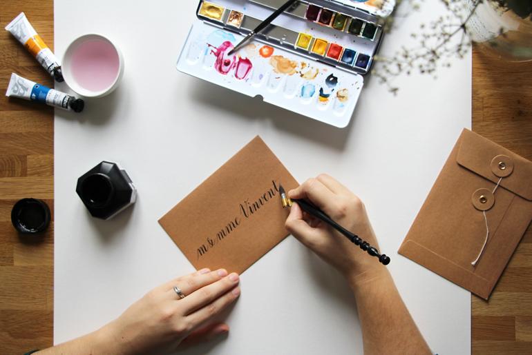 Calligraphique- a propos