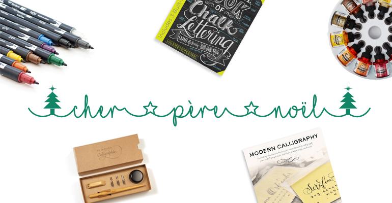Liste de Noël - Calligraphie