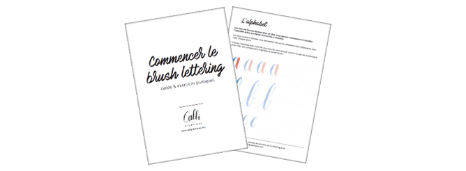 Apprendre le Brush Lettering