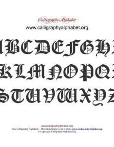 Old english calligraphy alphabet pdf also charts to print rh calligraphyalphabet