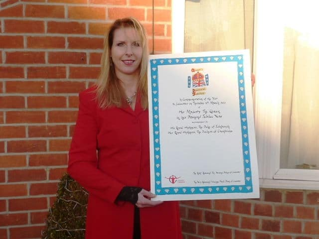 Jane and the Royal Guest Certificate