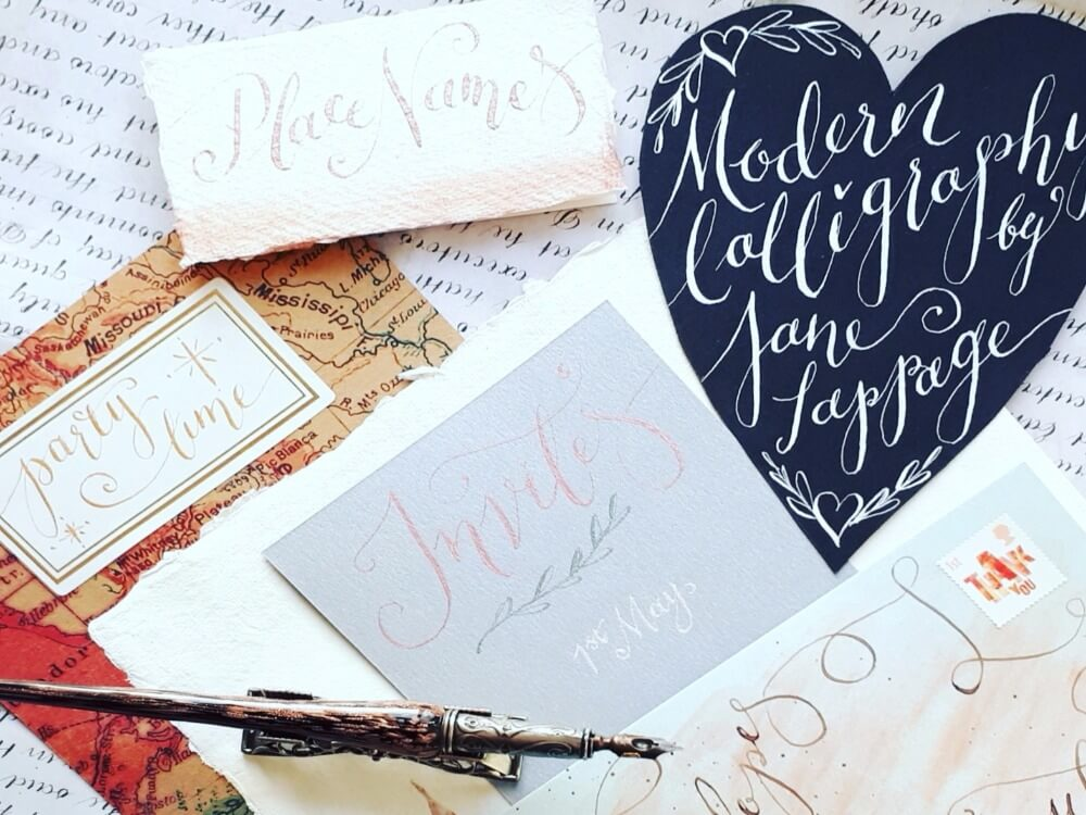 Full modern calligraphy course beauchamp college