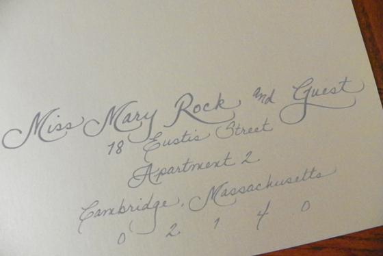 Kensie jacksonville fl calligraphy for weddings