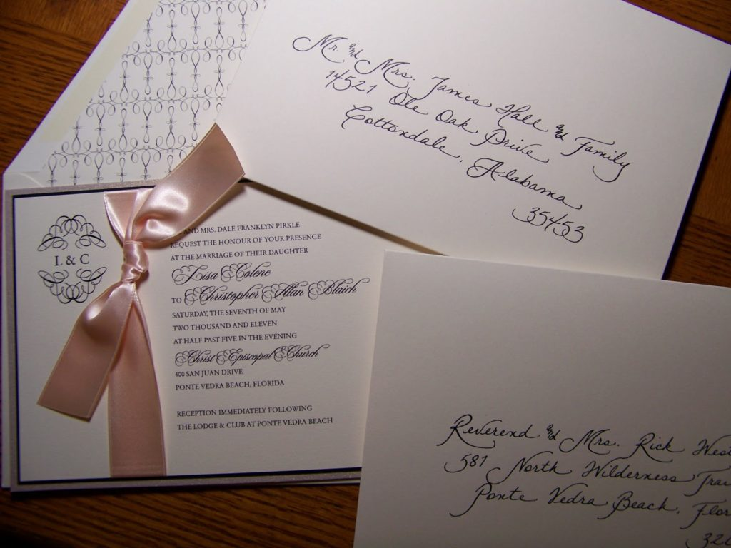 Why Hire A Calligrapher Jacksonville Fl Calligraphy