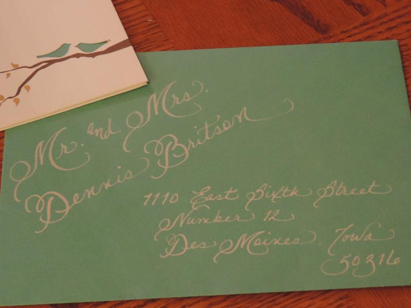 Emily Jacksonville Fl Calligraphy For Weddings