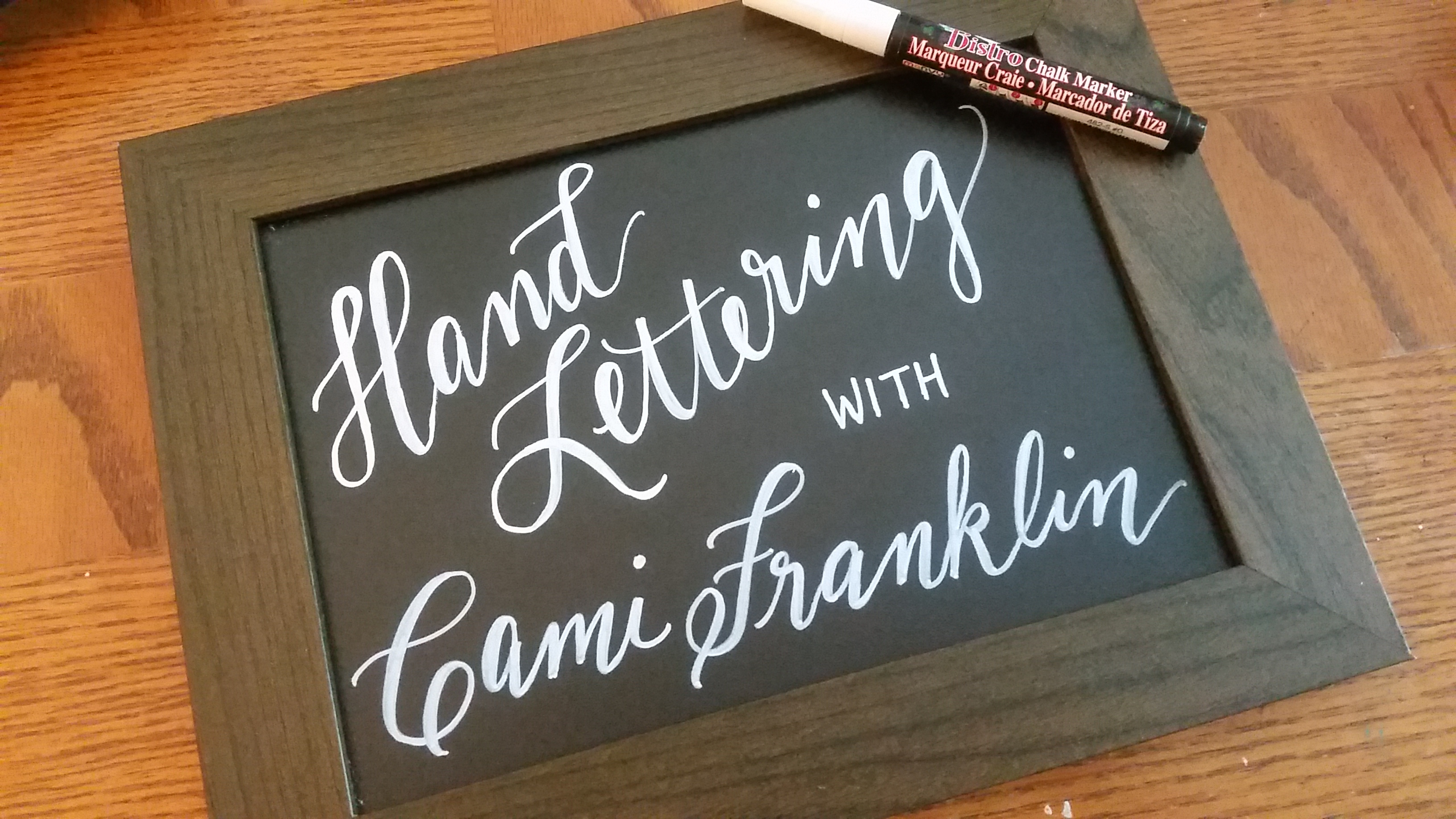 Fresh hand lettering class how to format a cover letter