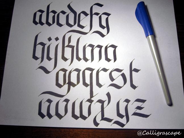 Learn Calligraphy - Fraktur