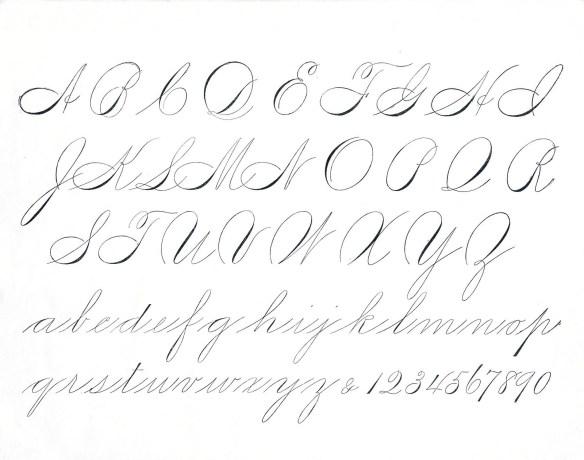 Spencarian Alphabet