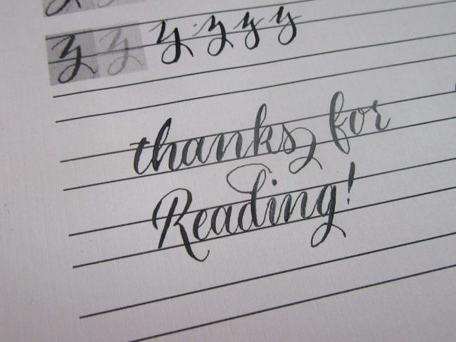Modern calligraphy for beginners basic strokes free