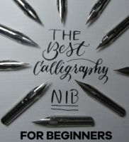 The Best Calligraphy Nib For Beginners