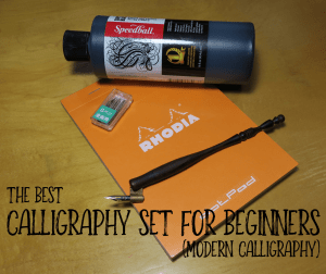 The best Calligraphy Set for Beginners Modern Calligraphy V2