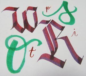 3 Types of Calligraphy