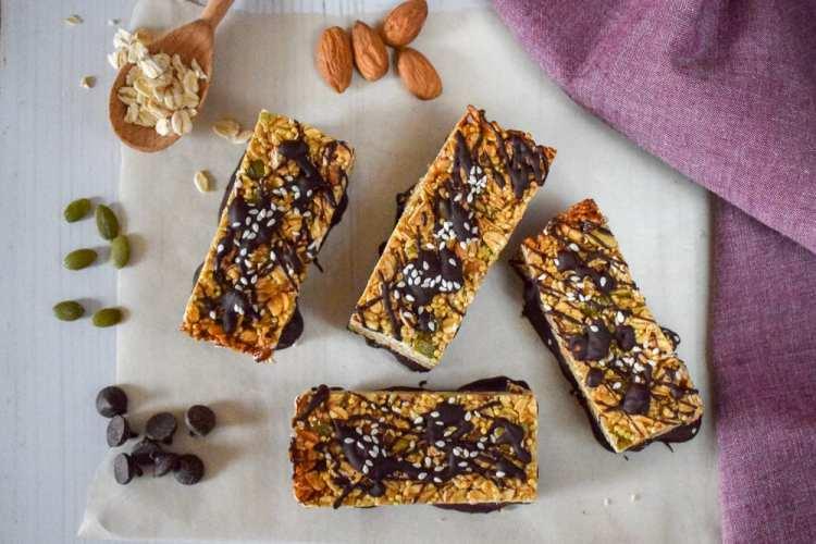 Tahini Chocolate Bars - 2