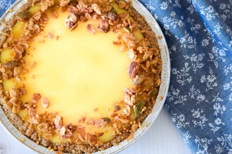 Granola Crust Pudding Pie