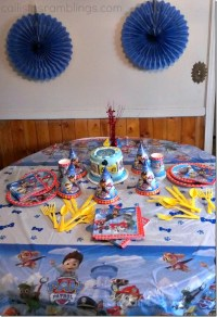 Celebrating 4 with a Paw Patrol Party With Help from