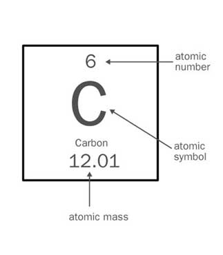 NEW ON THE PERIODIC TABLE WHAT DOES THE ATOMIC MASS REPRESENT