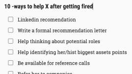 Getting fired sucks, and if I know that person is an amazing professional, I have to help!