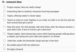 Food is not the only way to get clients as a restaurant.. some ideas on that!