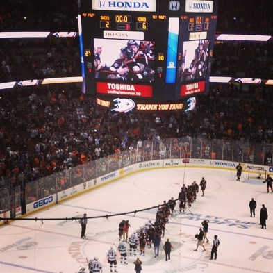 Ducks exit the 2014 playoffs, and Teemu Selanne also exits the NHL