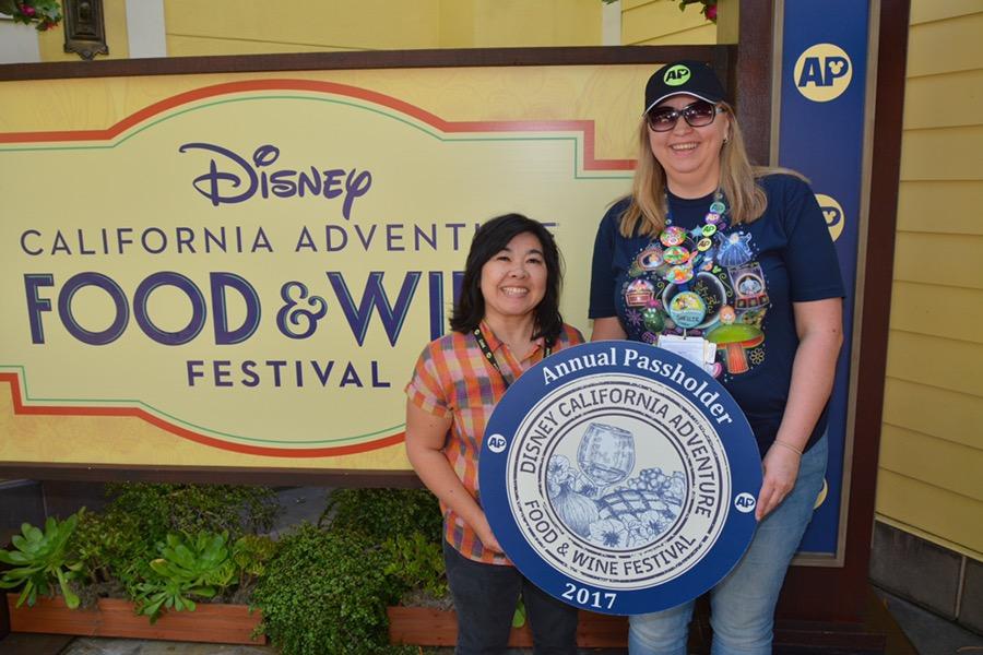 Celebrating my birthday at Disney California Adventure Food + Wine