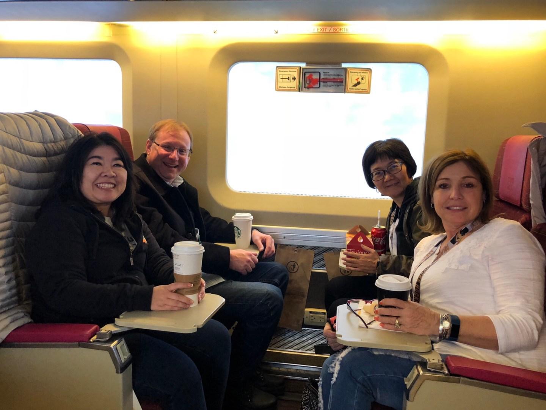 Super Bowl Sunday: leaving Montréal—>Toronto via train