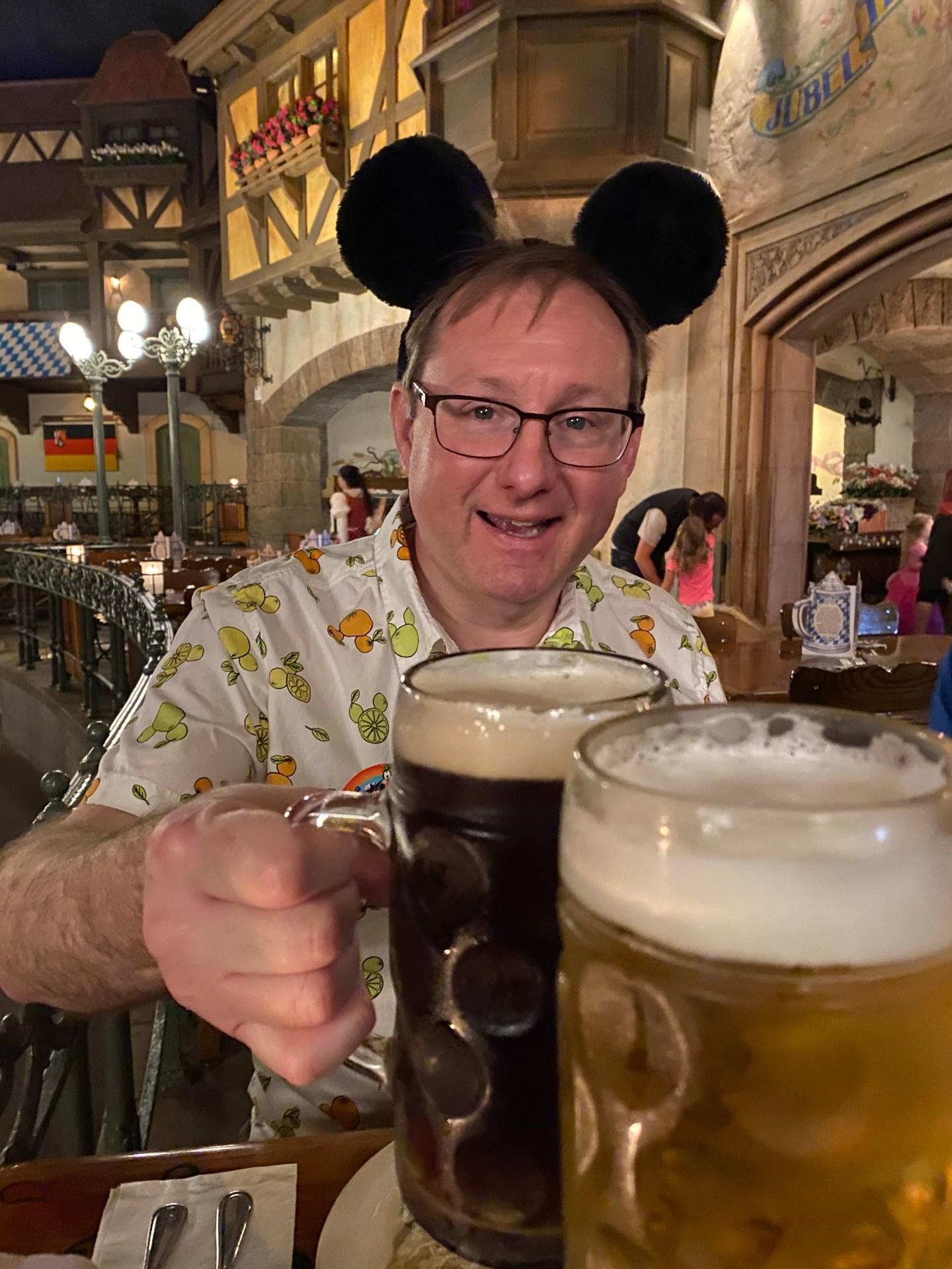 Disney World: Epcot / Biergarten Restaurant