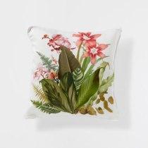 Coussin en lin imprimé fleurs, Zara Home, 12,99 euros