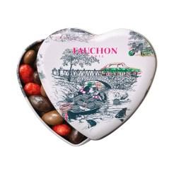 Boite cœur french romance, Fauchon, 13 euros