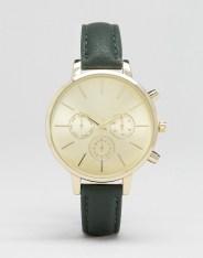 Montre avec bracelet en similicuir, New Look, 15 euros