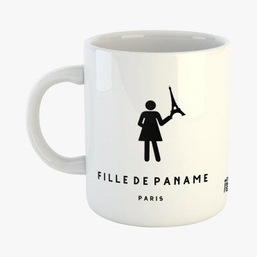 Mug Fille de Paname, On the Other Fish, 15 euros