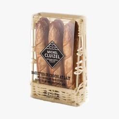 Poche baguettes en chocolat au lait, 10,90 euros, Michel Cluizel